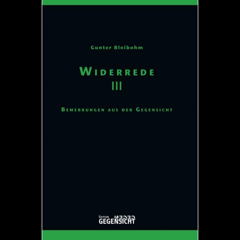 WIDERREDE III