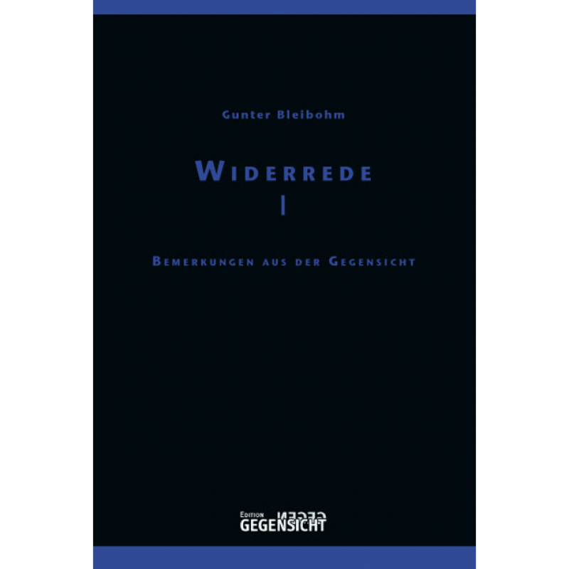 WIDERREDE I