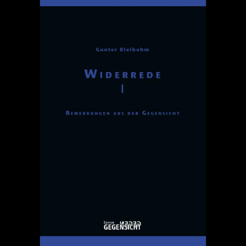 WIDERREDE I