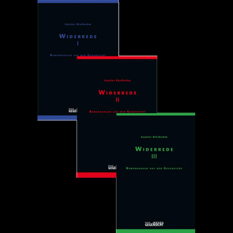 Paket WIDERREDE I + II + III