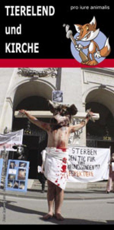 """Flyer """"Tierelend und Kirche"""""""