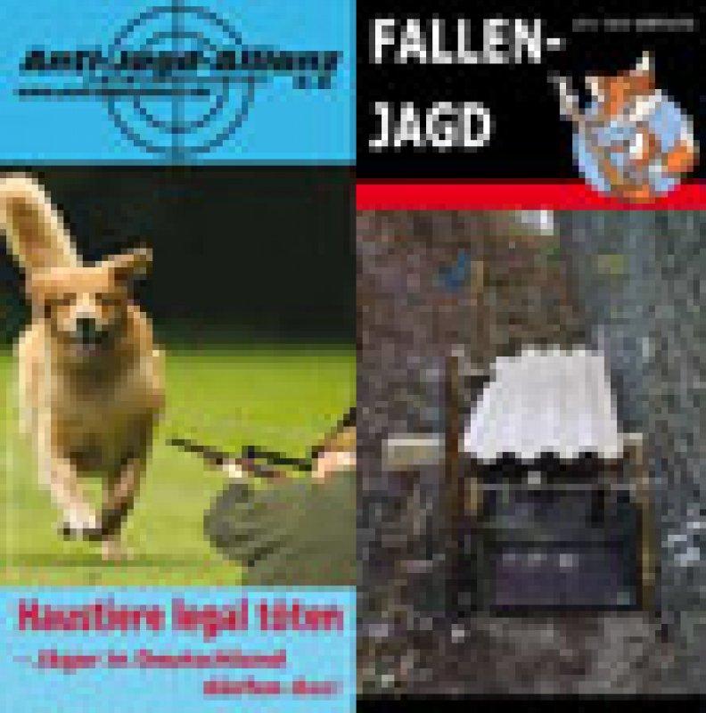 "Flyer ""Fallenjagd & Haustierabschuss"""