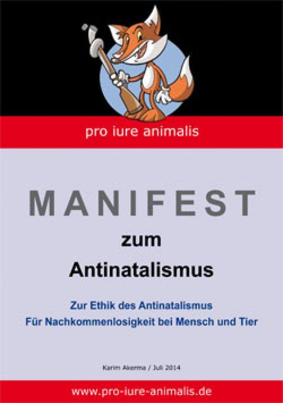 """Flyer """"Antinatalismus"""""""