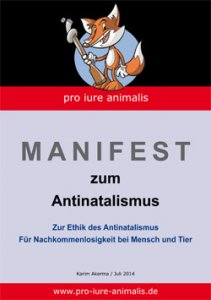 "Flyer ""Antinatalismus"""