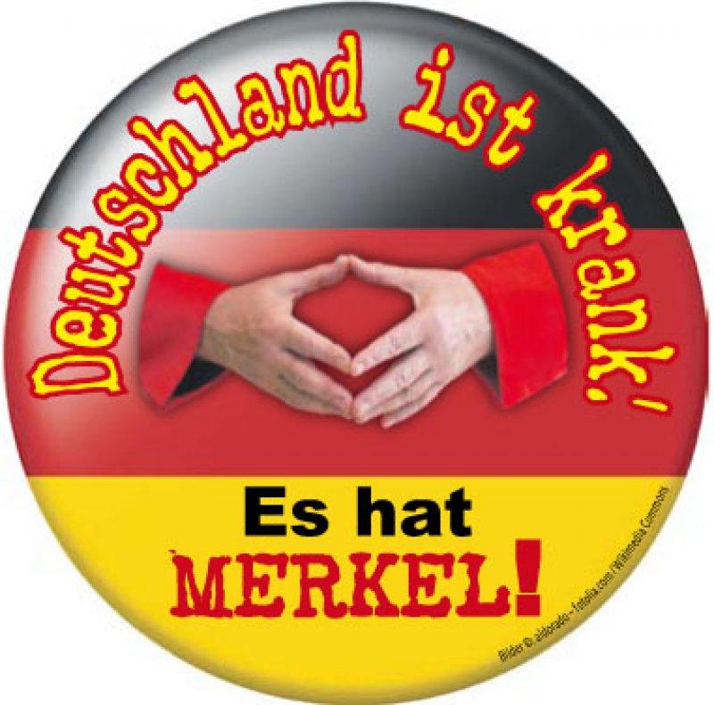 """Aufkleber """"Deutschland ist krank ..."""""""